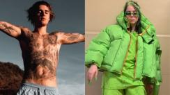 Justin Bieber estrenó la versión remix de 'Bad Guy' junto a Billie Eilish [VIDEO]
