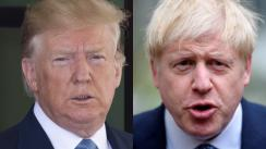 Johnson y Trump se comprometen a negociar un
