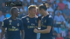 Real Madrid vs. Celta: Kroos anotó el 2-0 con un latigazo desde fuera del área [VIDEO]
