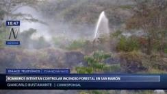 Bomberos intentan controlar incendios forestales en Chanchamayo | VIDEO