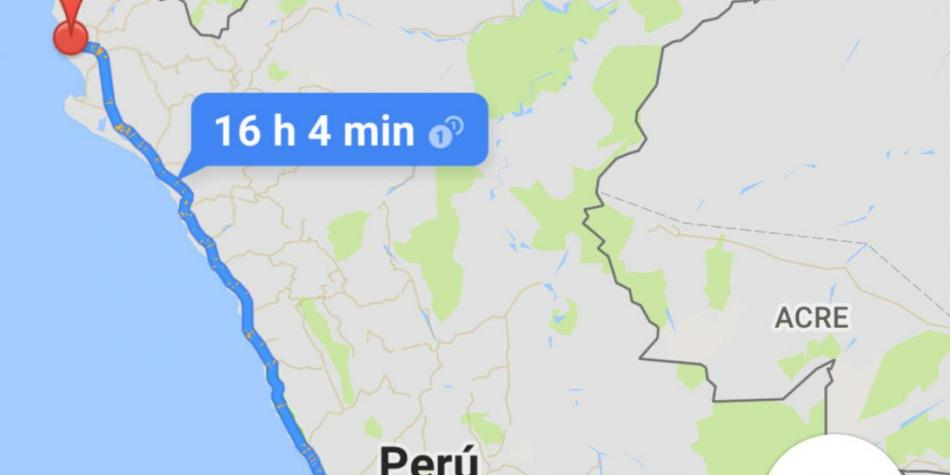 Google Maps: Why does not the program work in Peru at full ...