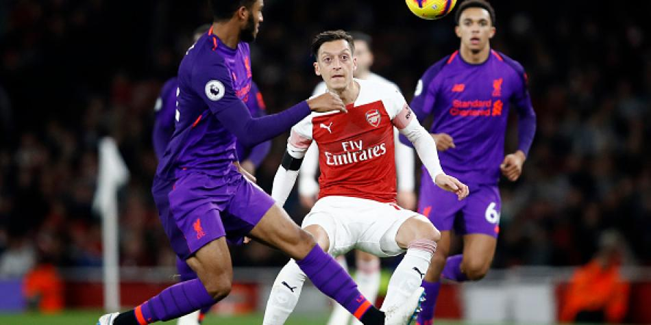 51dc1e8a1ad86 Arsenal vs. Liverpool empataron 1-1 en el Emirates Stadium por la Premier  League