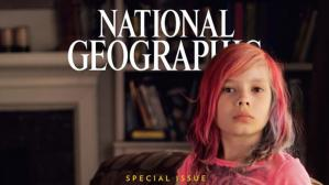 Jackson Avery en la portada de la National Geographic. (Captura)