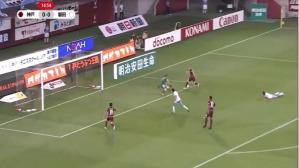 Andrés Iniesta marcó gol por primera vez en Japón (Captura y video: YouTube).