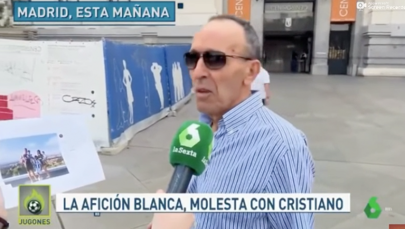 Hinchas del Madrid. (Video: Jugones)