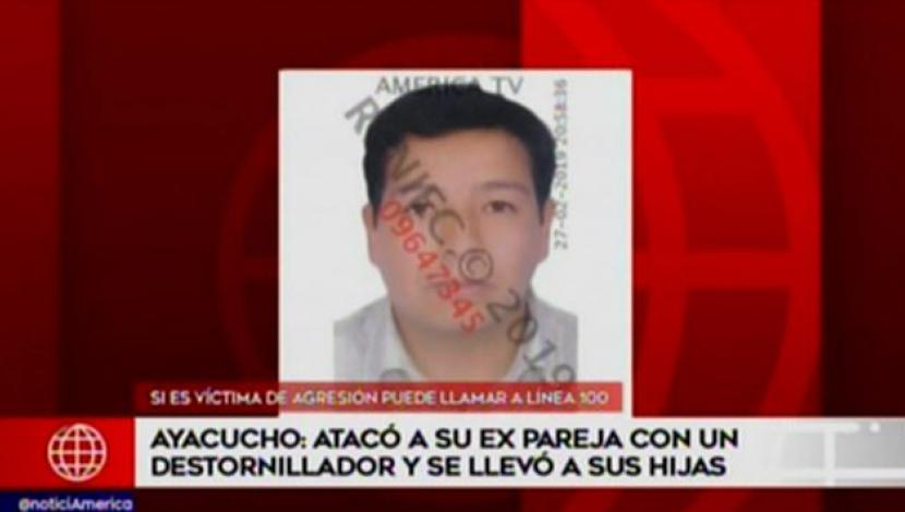 Ayacucho: The man attacked his wife with a screwdriver and left her blind