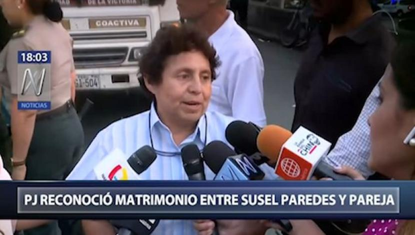 Susel Paredes. (Canal N)