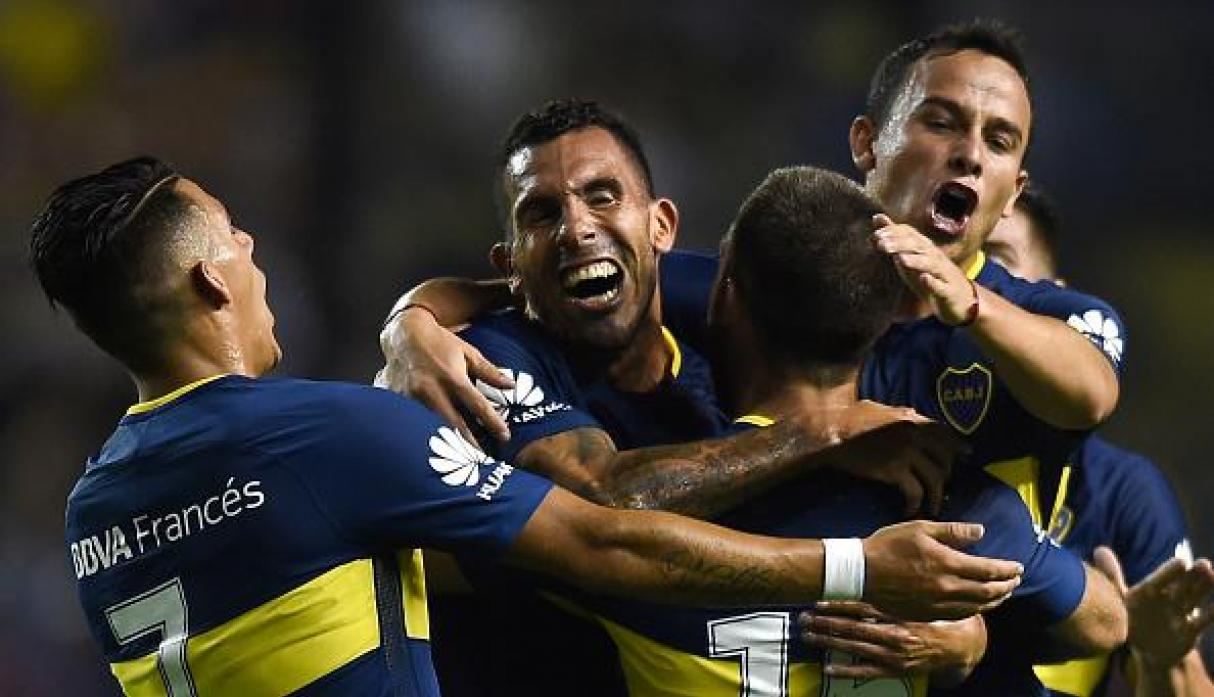 Carlos Tevez regresó a Boca Juniors este año. (Getty Images)