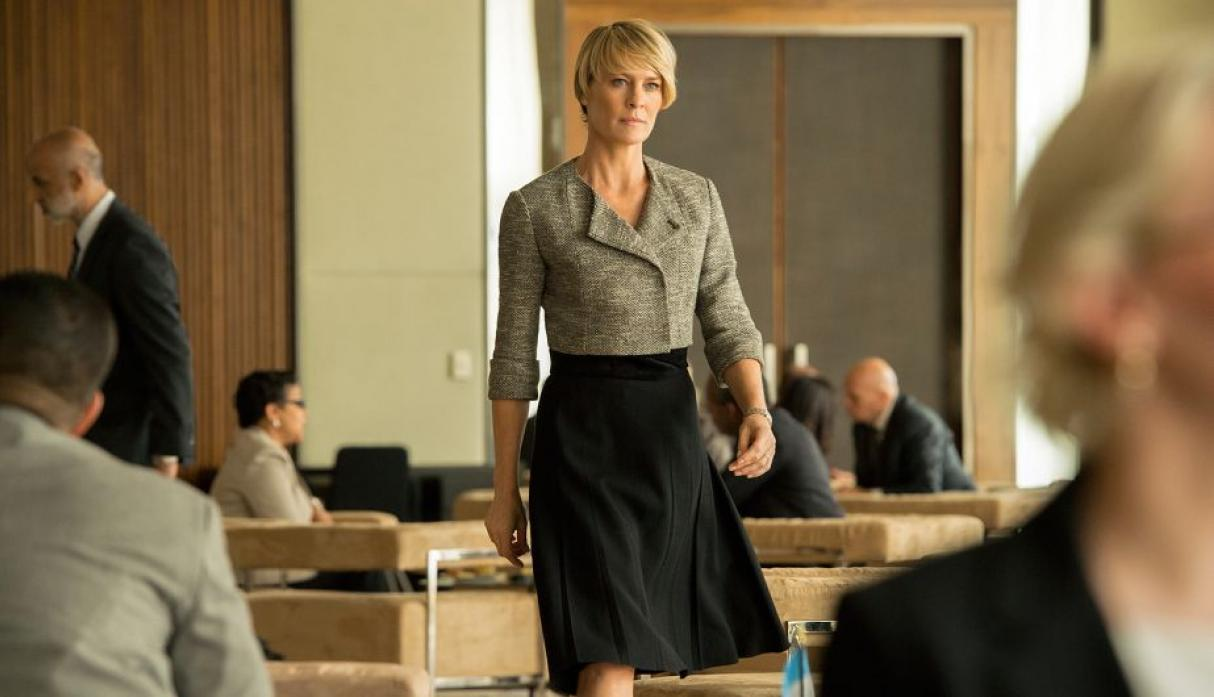 David Fincher, director y productor de 'House of Cards' siempre tuvo en mente a Robin Wright para Claire Underwood.