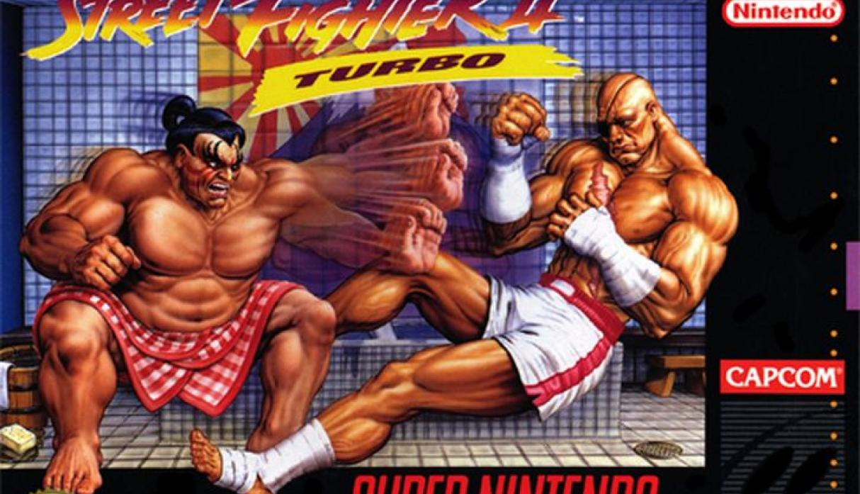 Street Fighter II Turbo.