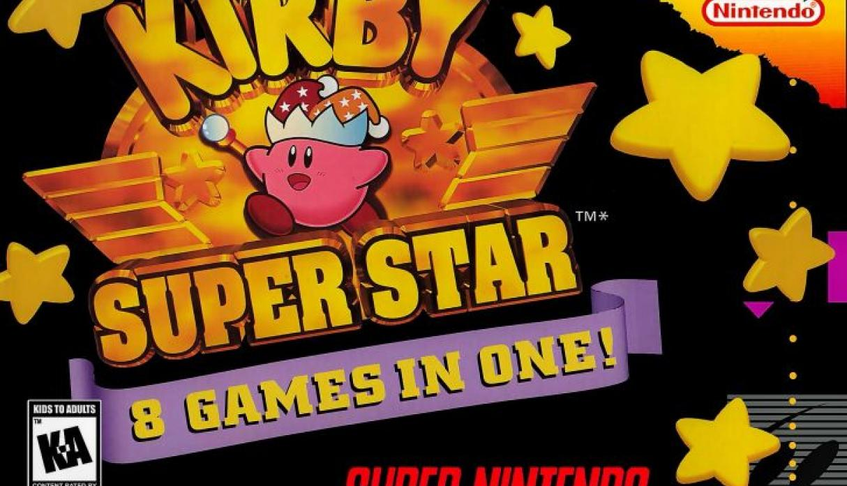 Kirby Super Star.