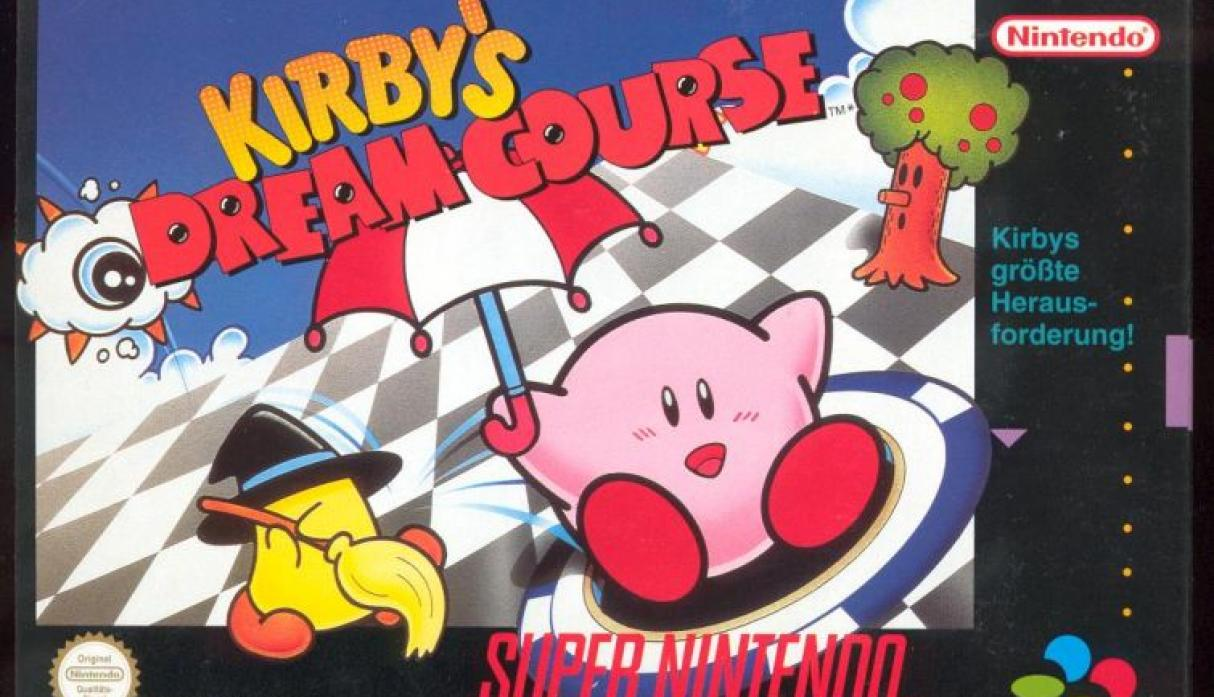Kirby's Deam Course.