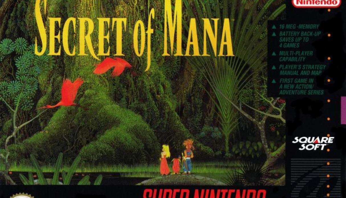Secret of Mana.