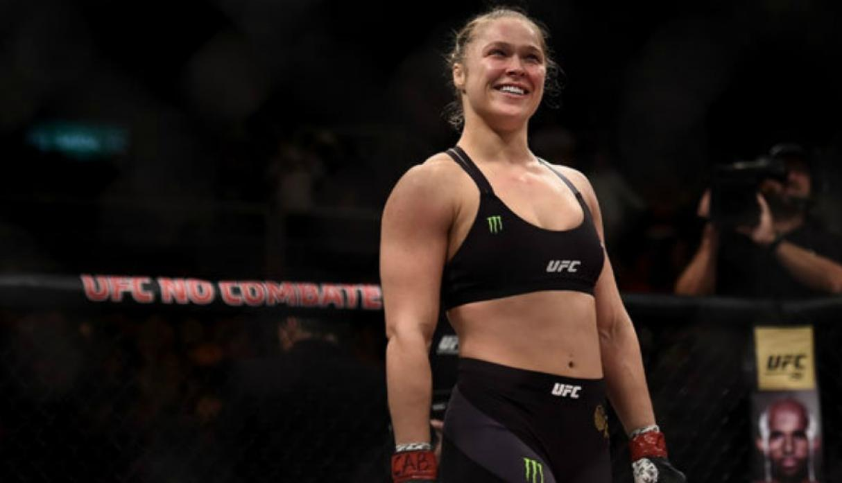 1. Ronda Rousey. (Getty Images)