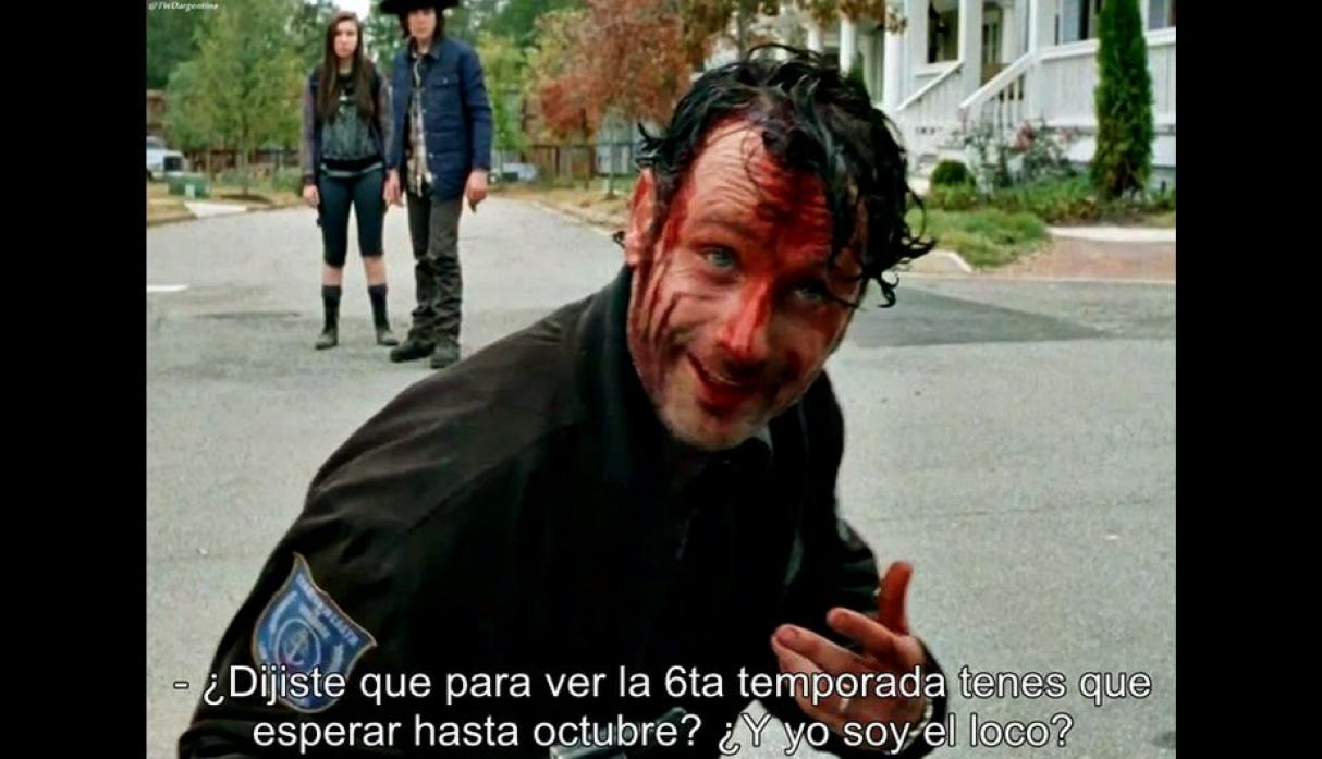 The Walking Dead: Mira los memes por el final de la quinta temporada ...