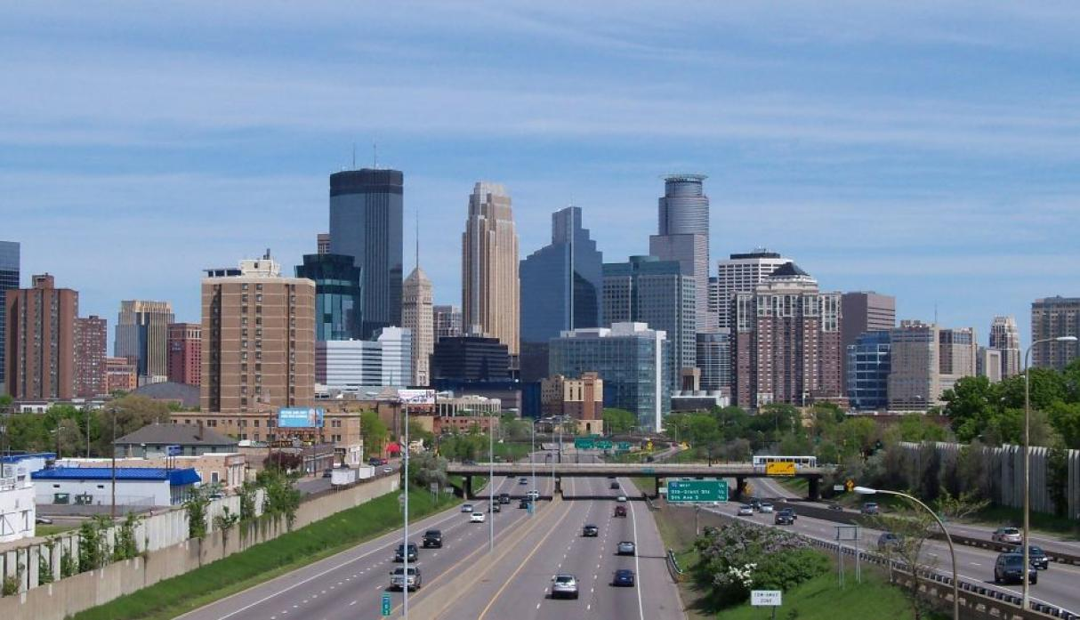 Minneapolis, Estados Unidos: 390 mil habitantes. (Wikipedia Creative Commons)
