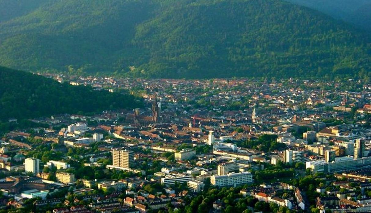 Friburgo, Alemania: 230 mil habitantes. (Wikipedia Creative Commons)