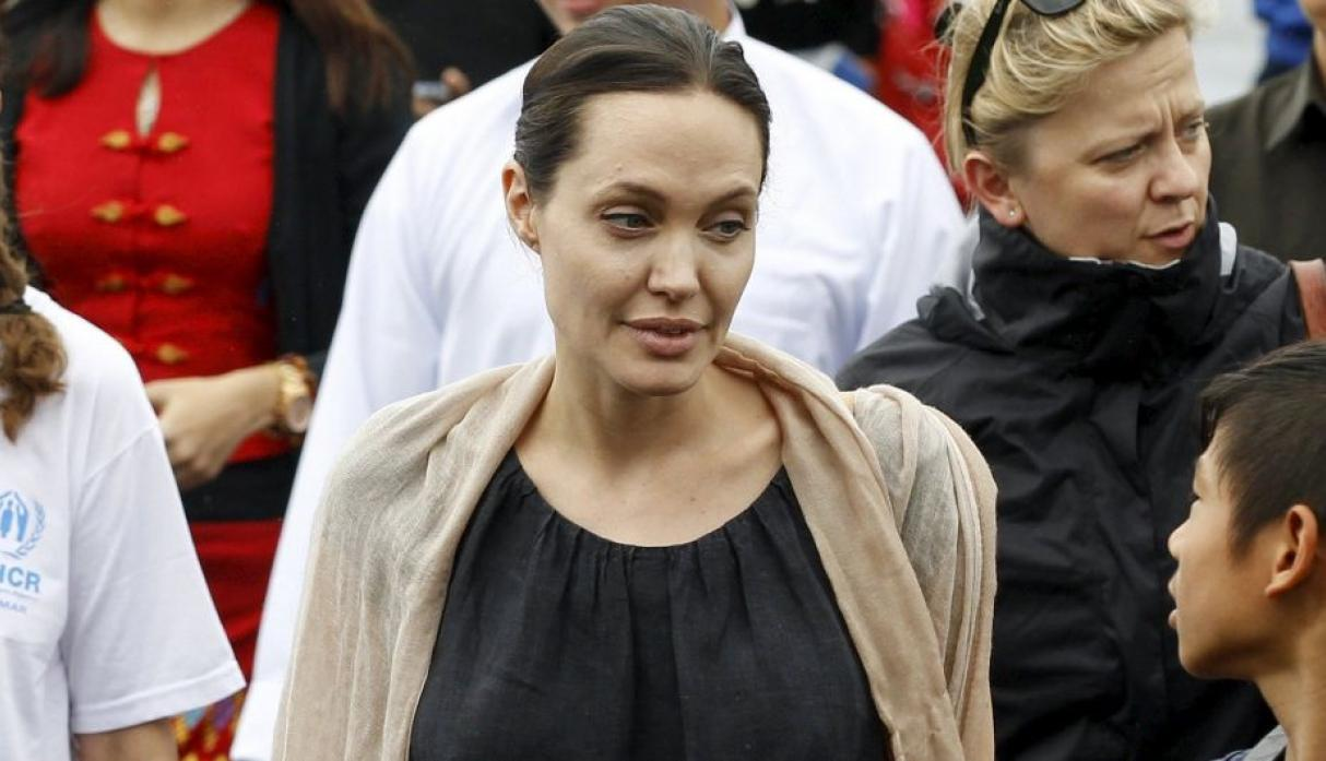 Image result for angelina jolie anorexia