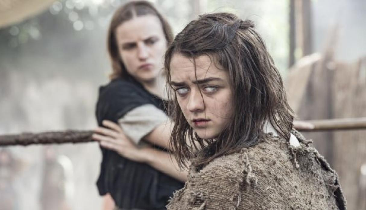 Maisie Williams  interpreta a 'Arya Stark' en 'Game of Thrones'. (HBO)