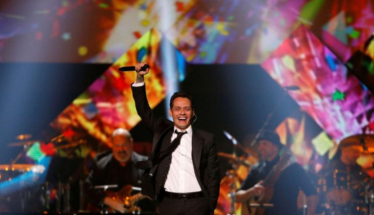 Marc Anthony celebró su homenjae. (Reuters)