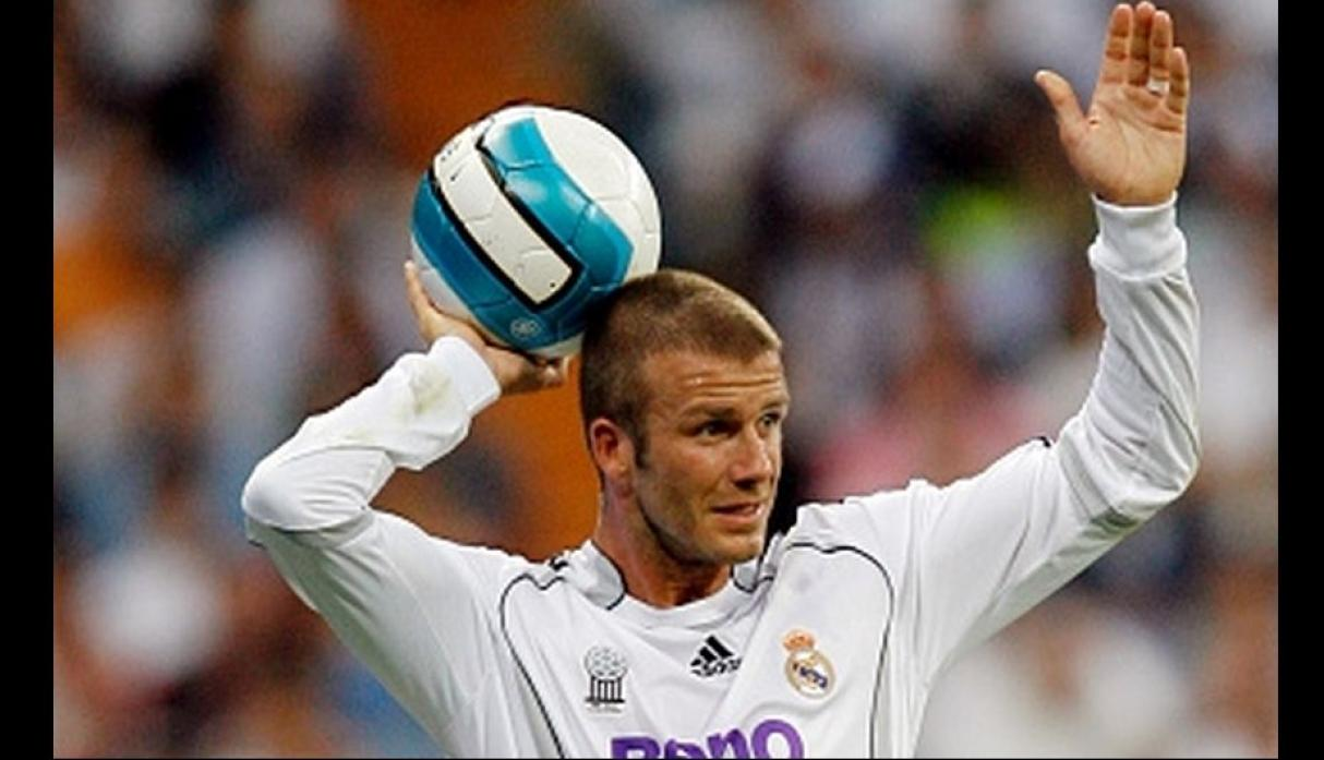 Beckham le costó 35 millones al Real Madrid. (Getty images)