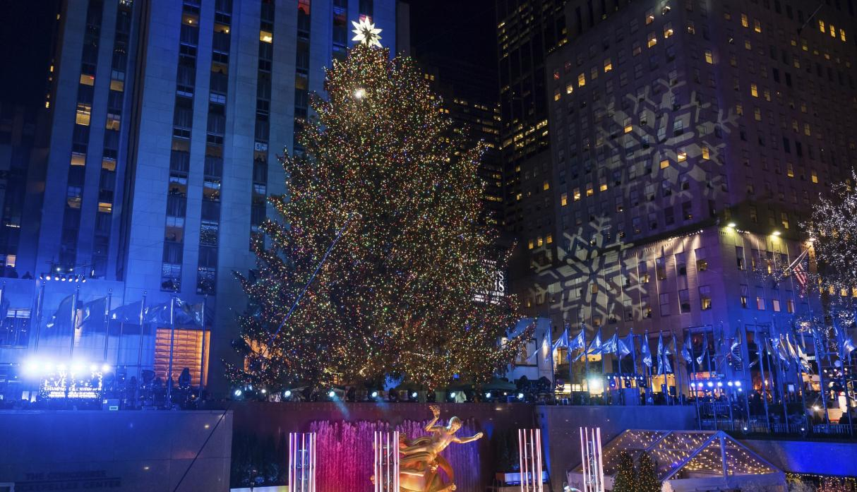Rockefeller Center (AP)