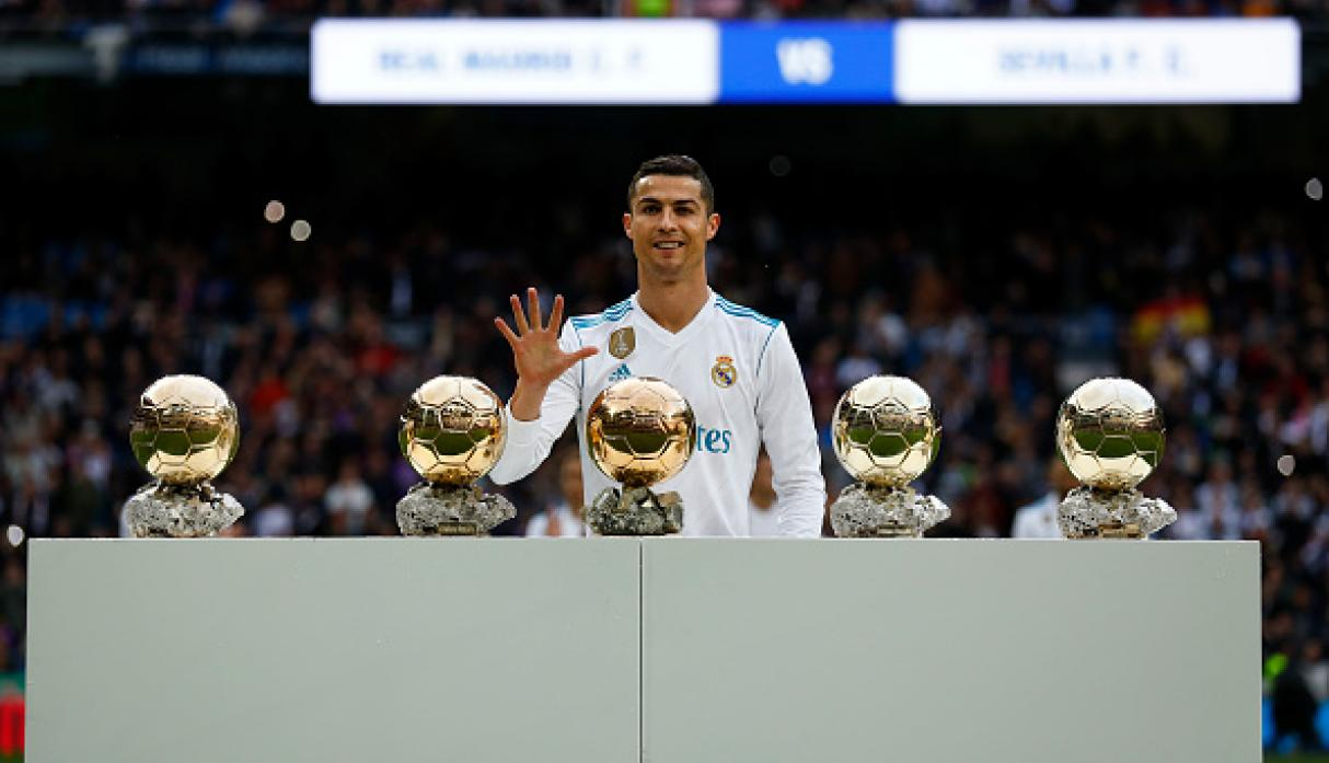 Image result for cr7 balones de oro