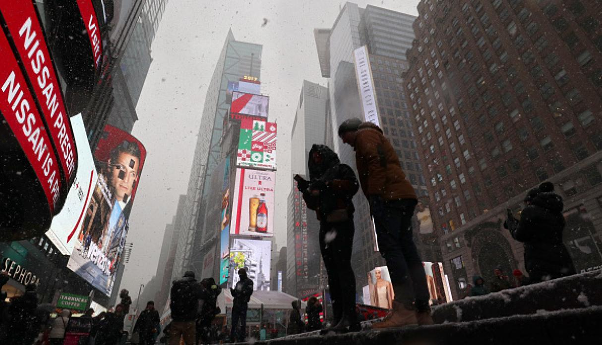 Times Square. (Getty Images)