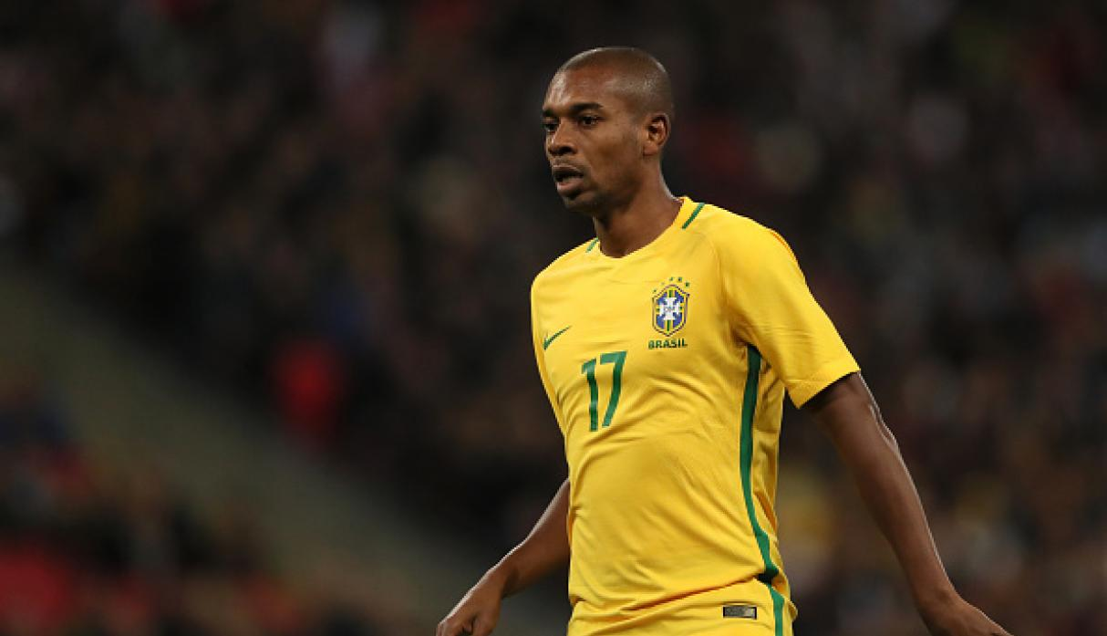 Fernandinho de Manchester City. (Getty Images)