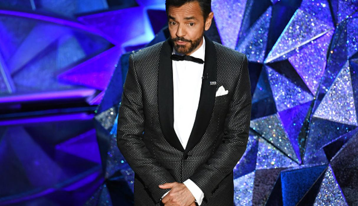 Eugenio Derbez en los premios Oscar. (Getty)
