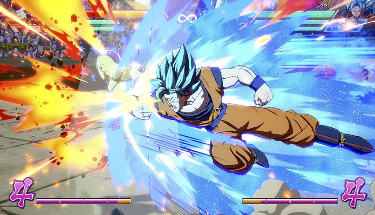 Dragon Ball FighterZ llegó en enero para PS4, Xbox One y PC.