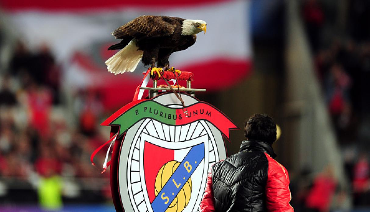 Águila del Benfica. (Getty Images)