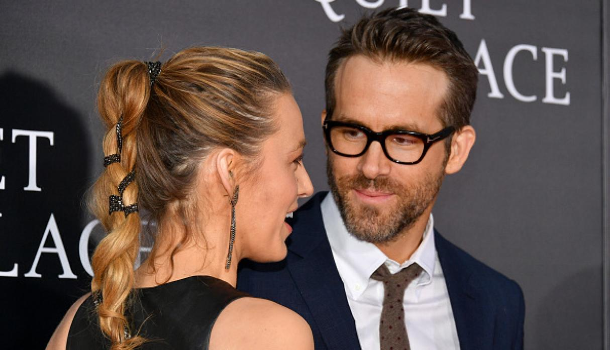 Ryan Reynolds y Blake Lively. (Getty Images)