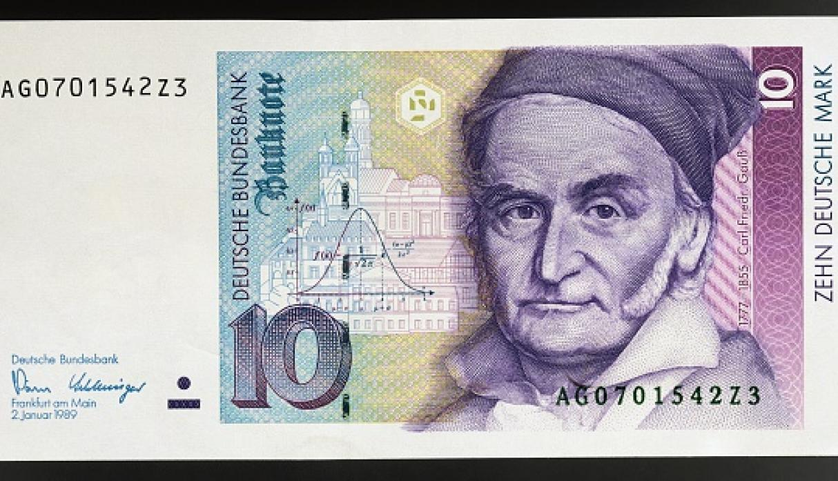 Carl Friedrich Gauss. (Getty Images)