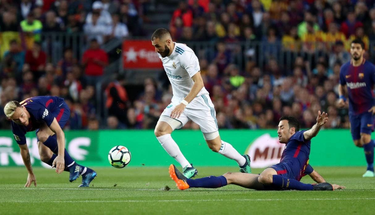 Real Madrid rescató empate en derby frente a Barcelona
