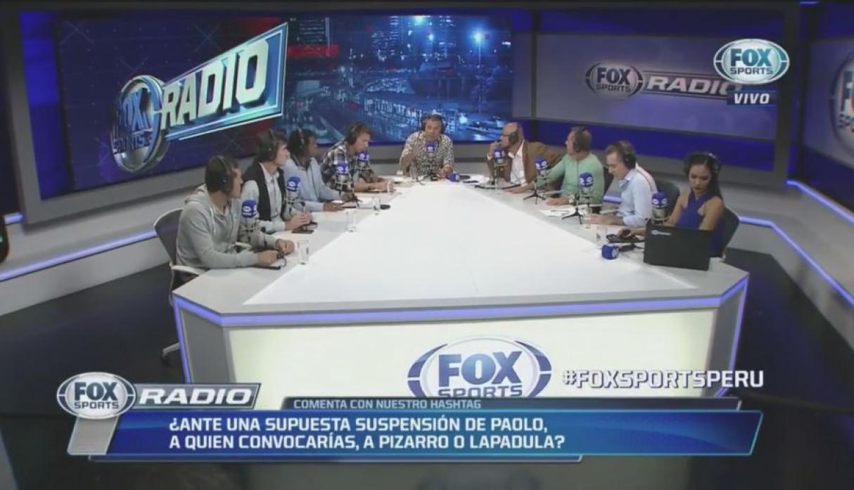 El panel de Fox Sports Radio Perú debatió sobre la posible convocatoria de Claudio Pizarro.