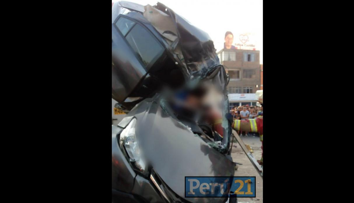 Accidente vehicular