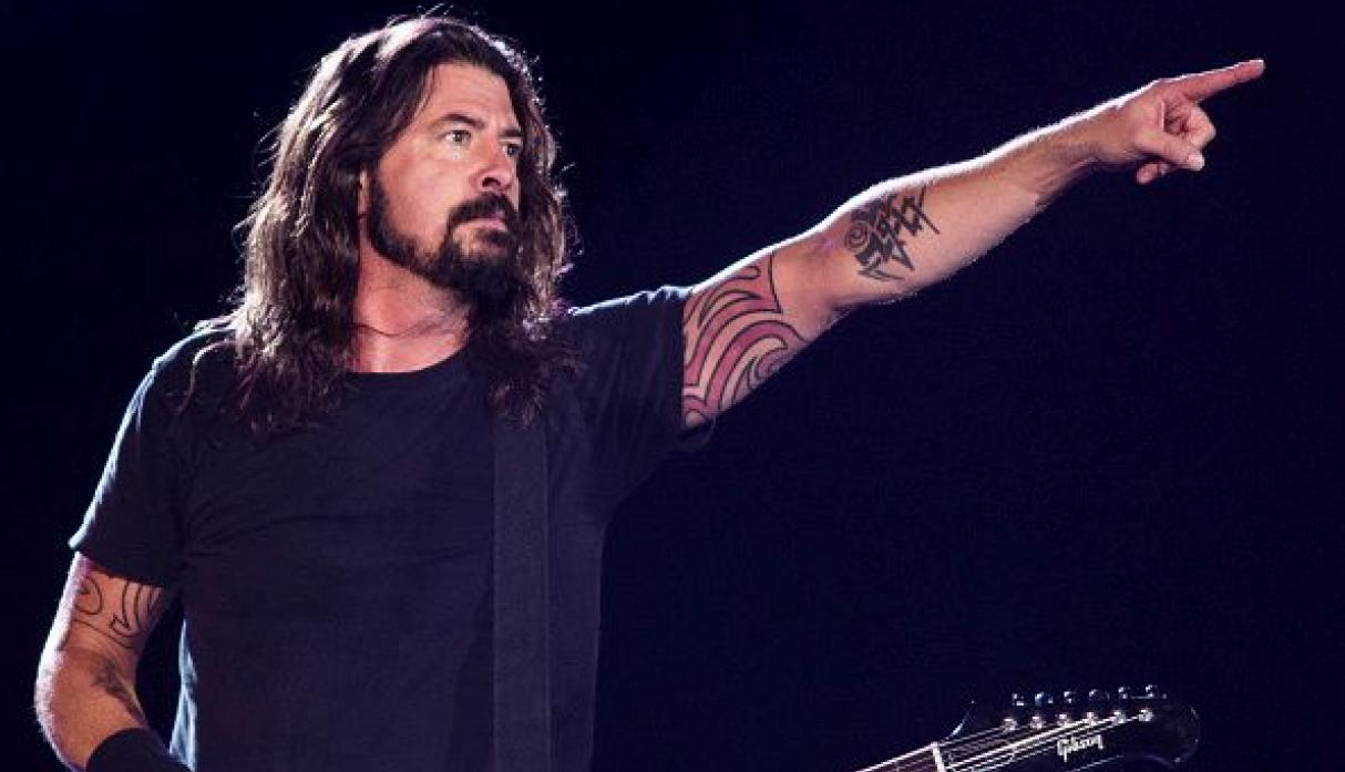 Dave Grohl, vocalista de Foo Fighters