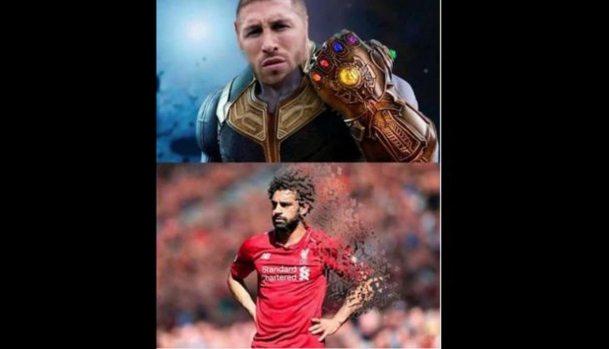 Memes del Real Madrid vs. Liverpool