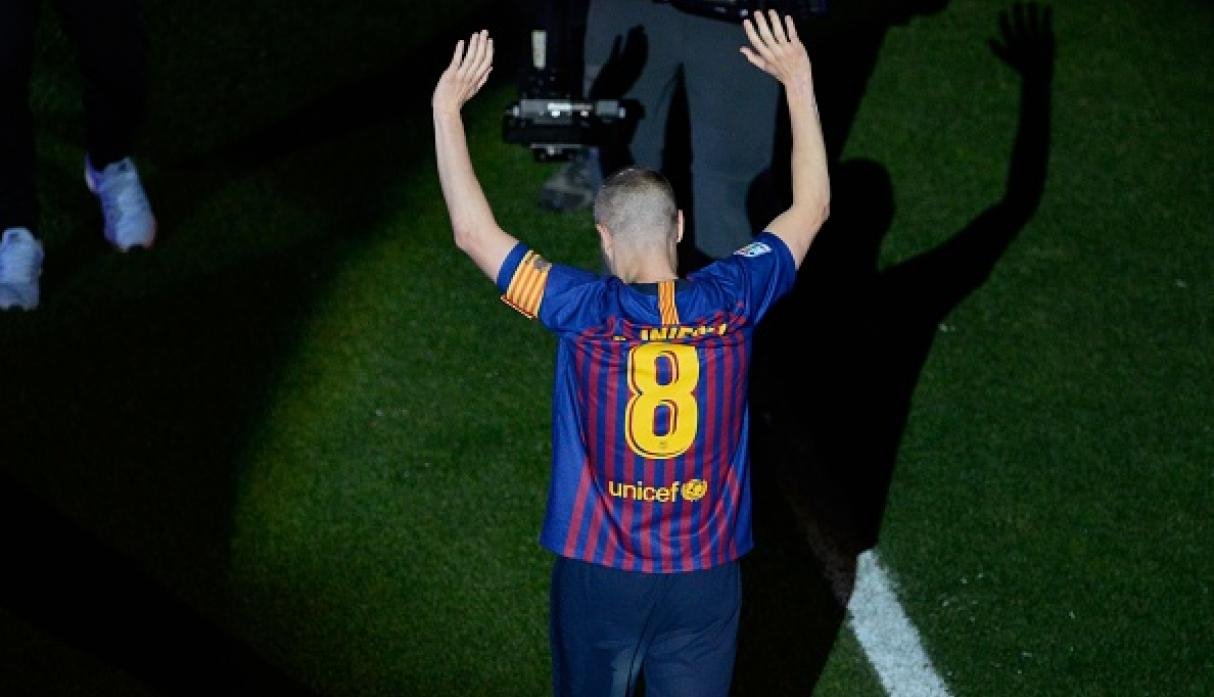 Andrés Iniesta. (Getty)