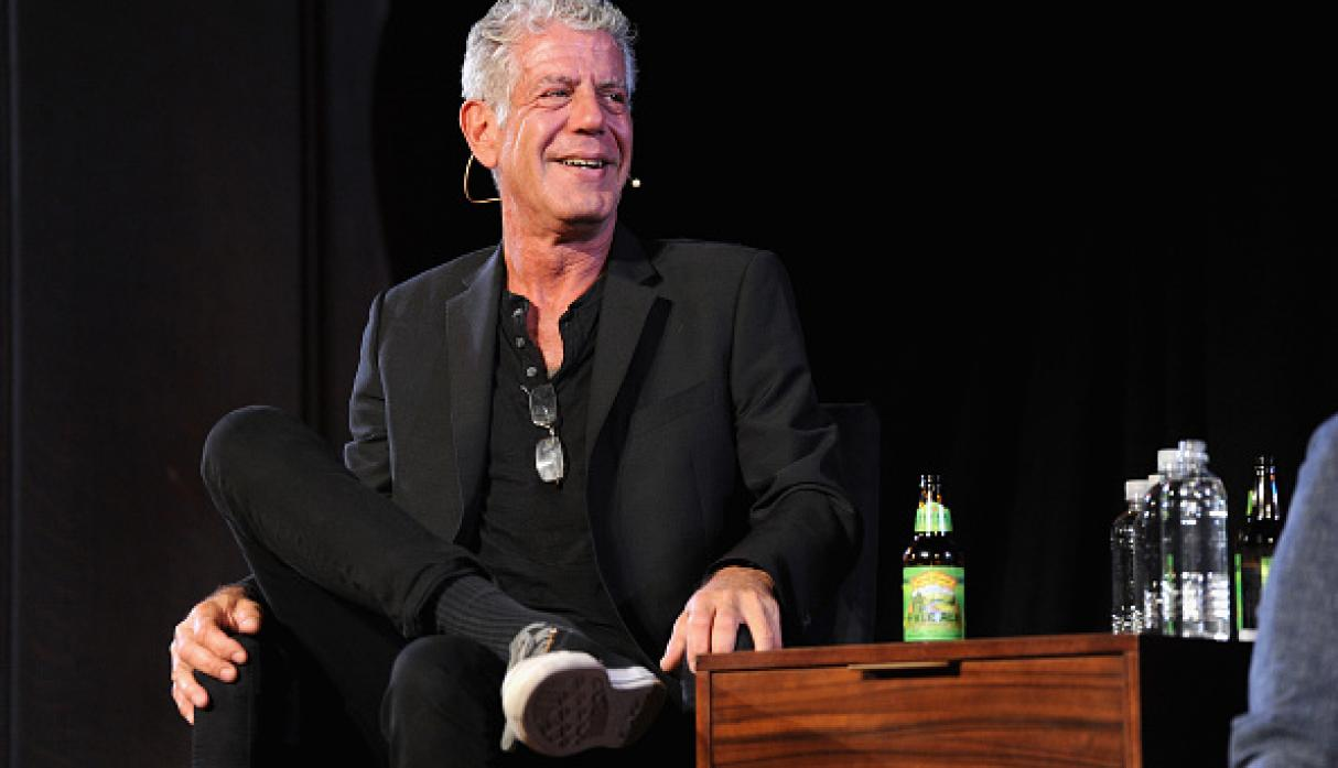 Anthony Bourdain. (Getty)
