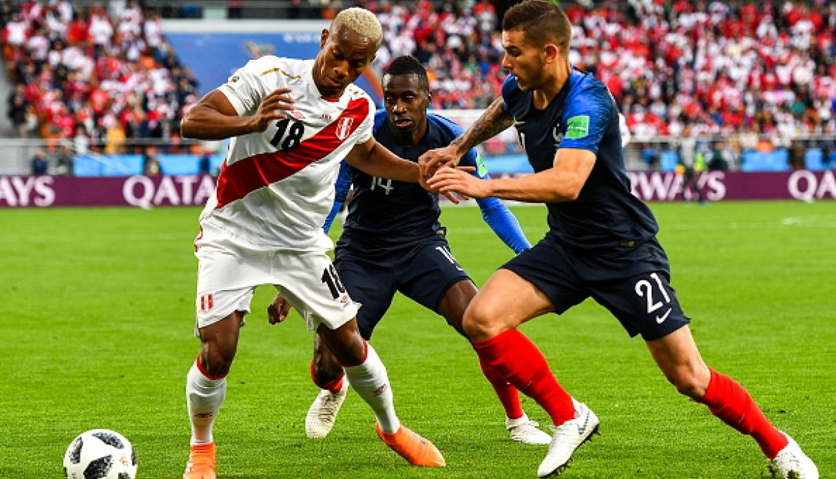 Perú vs. Francia. (Getty)