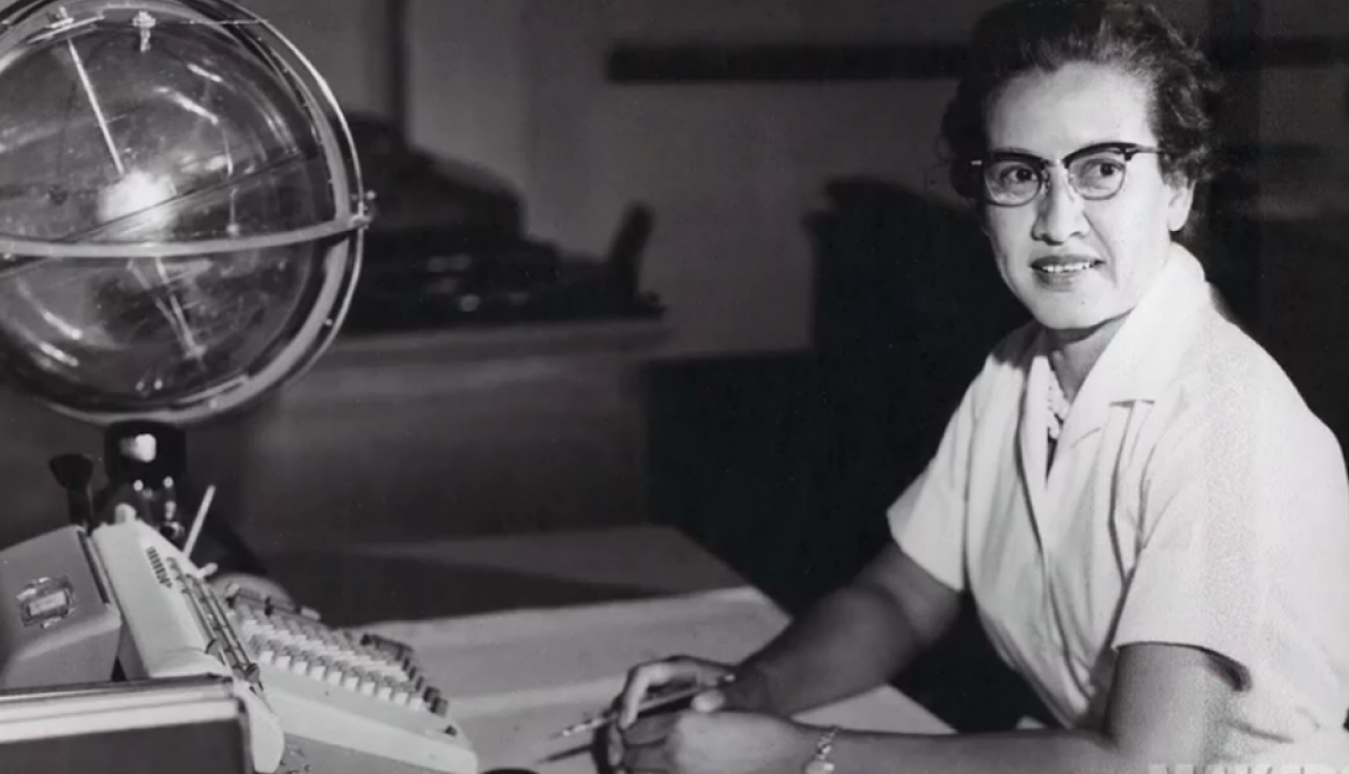 Katherine Johnson. (Nasa/Getty)