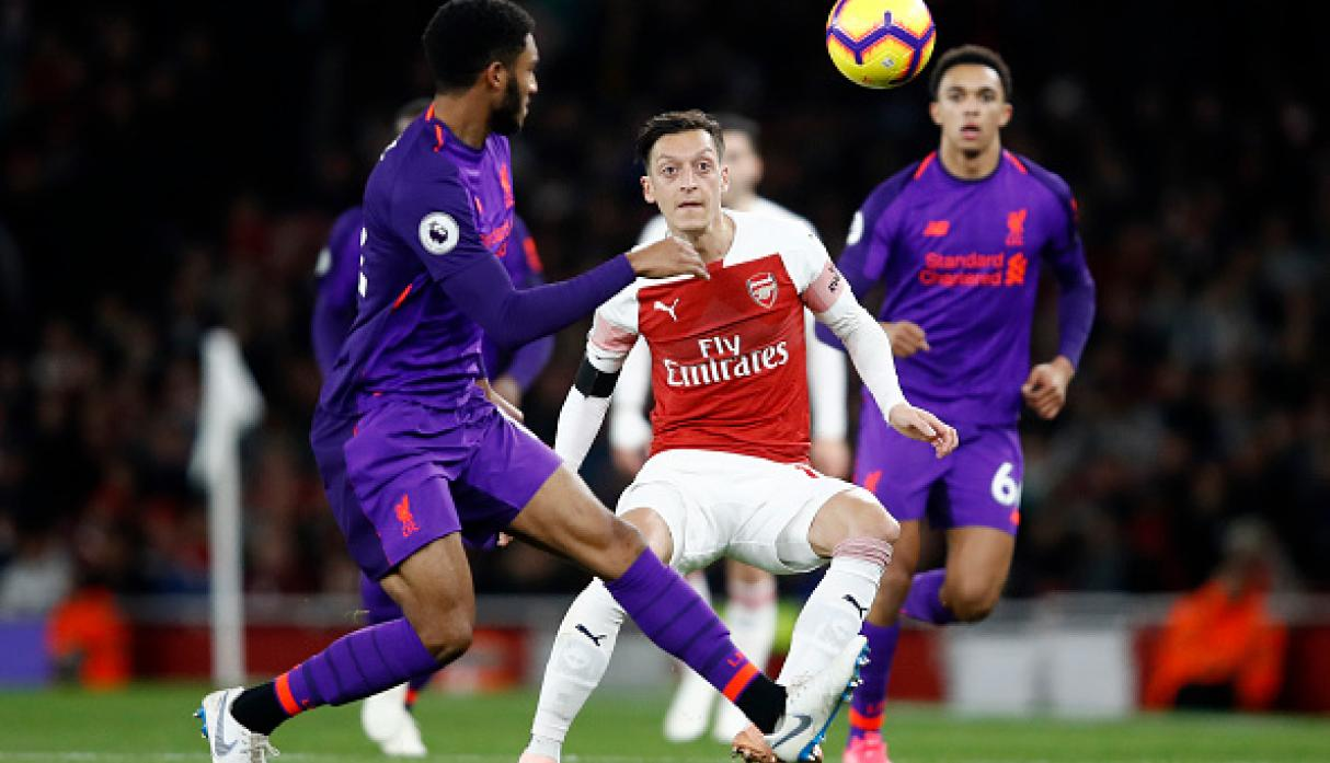 a5272df032cff Arsenal vs. Liverpool empataron 1-1 en el Emirates Stadium por la ...