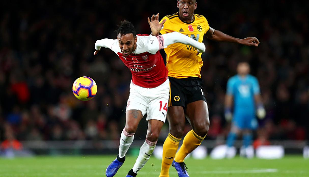 Arsenal empató 1-1 contra Wolverhampton por la Premier League. (Getty)