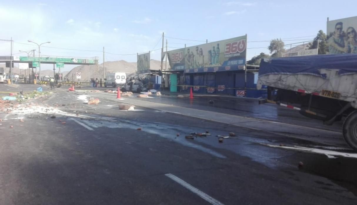 Arequipa accidente