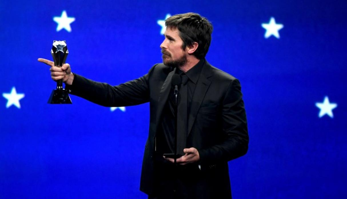 Critics' Choice Awards 2019: Christian Bale gana como Mejor actor (Foto: AFP)