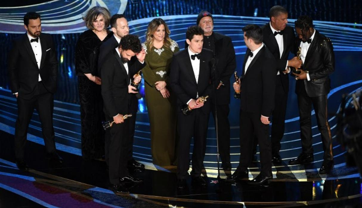 "Oscar 2019: ""Spider-Man: Into the Spider-Verse"" gana Mejor Película Animada (Foto: AFP)"