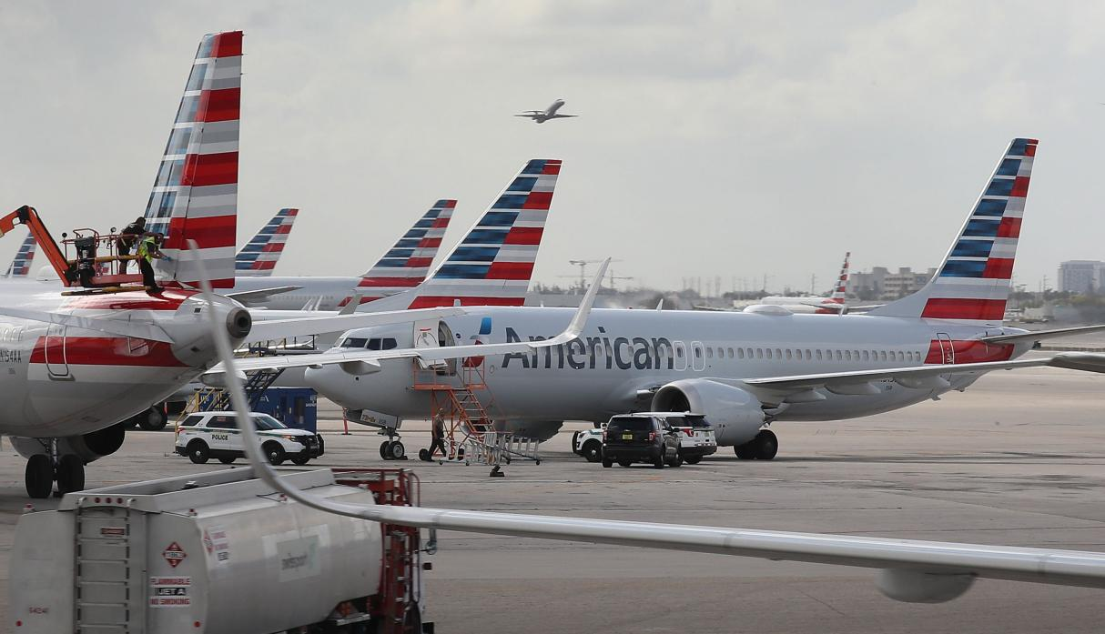 American Airlines (AFP)