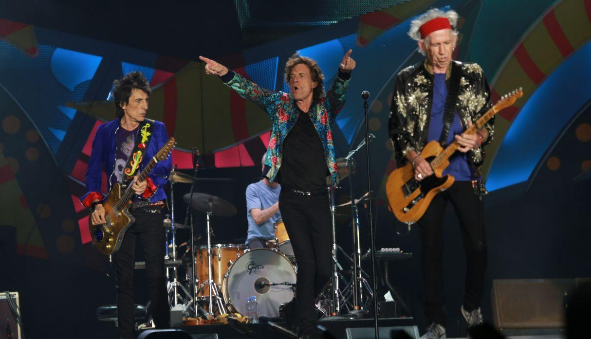 Mick Jagger y The Rolling Stones
